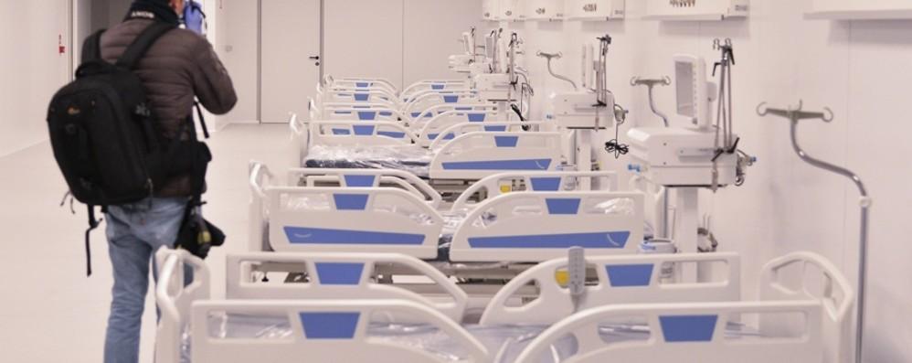 La Regione agli ospedali: preparate i letti Papa Giovanni, 80 posti in terapia intensiva