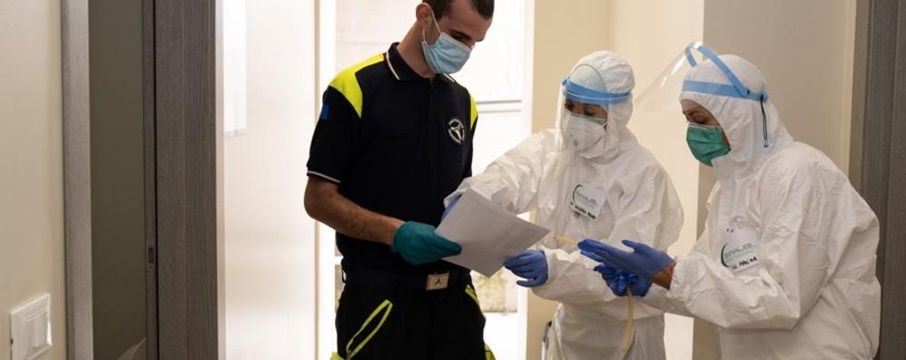 Bergamo in prima fila con il volontariato Tamponi e vaccini, si attiva la Protezione Civile
