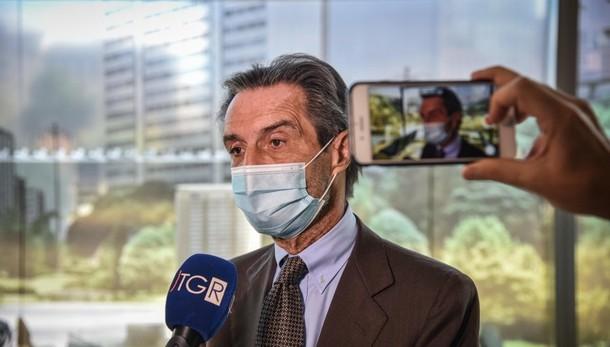 «Covid, lunedì incontro con i sindaci» Fontana: in questi giorni valuteremo i dati