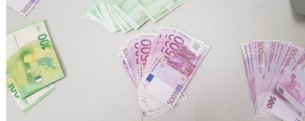 Denaro in valigia per oltre 400 mila euro Orio, nella borsa anche un chilo di oro
