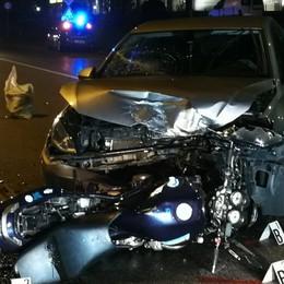 Entratico, papà di 46 anni muore dopo lo schianto in moto a Chiuduno