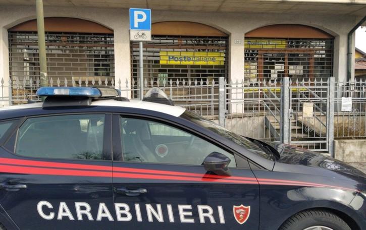 Rapina alle Poste di Fontanella Bandito fugge con 21 mila euro