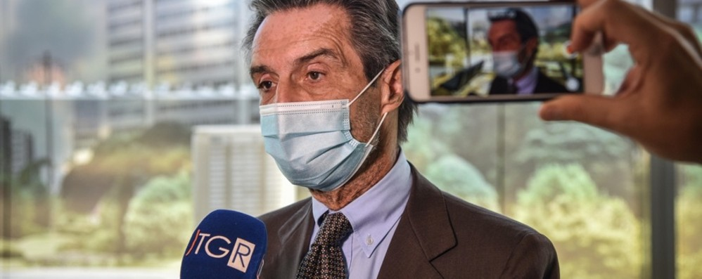 Fontana: «Da lunedì tamponi rapidi a disposizione di Ats e Asst lombarde»