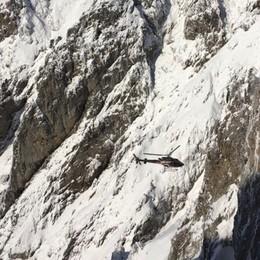 Disperso, quarto giorno di ricerche Elicottero e droni in Presolana