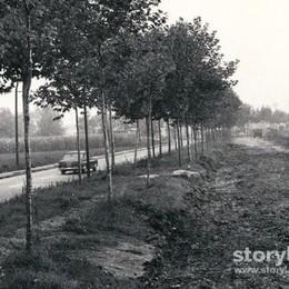 Quando la circonvallazione delle Valli era una tranquilla strada di campagna