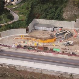 Variante di Zogno: fuori dal tunnel Partono i cantieri per le due rotatorie