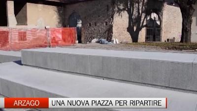 Arzago - Una nuova piazza per ripartire