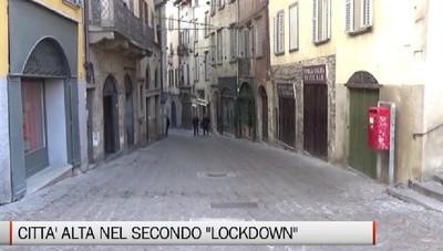 Bergamo - Città Alta nel secondo «lockdown»