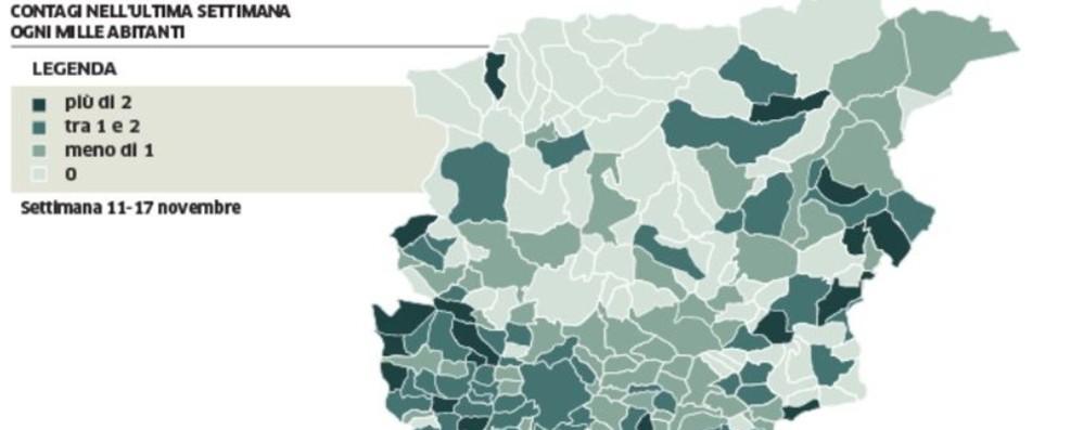 Covid e trend nuovi positivi  La Bassa cresce 5 volte più della città