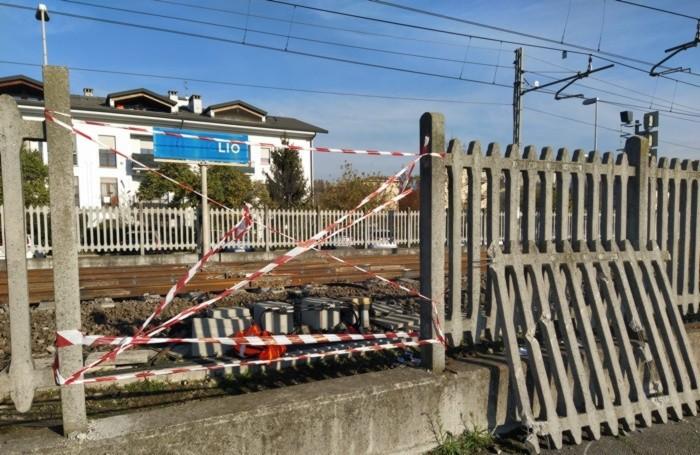 incidente sul lavoro alla stazione di Treviglio