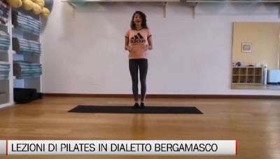 Marina, lezioni di pilates in dialetto bergamasco