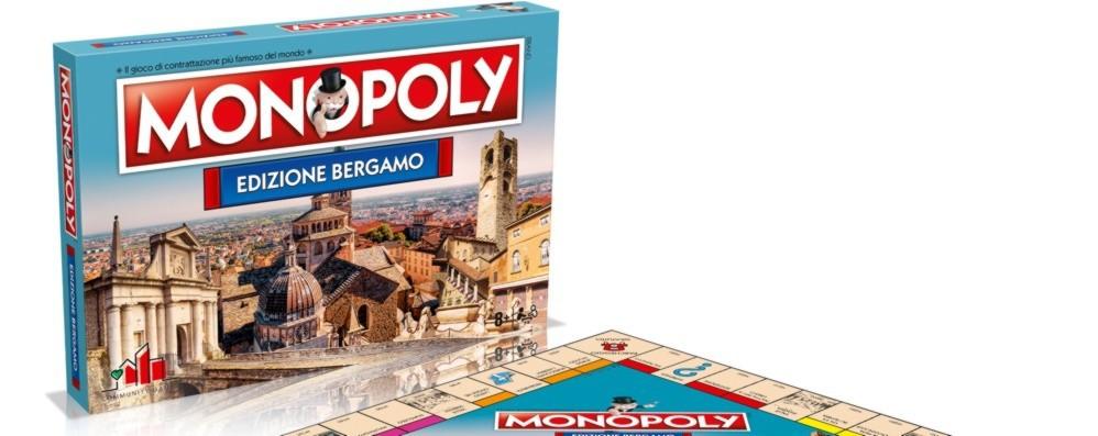 Monopoly in versione Bergamo Da oggi in vendita 7 mila pezzi