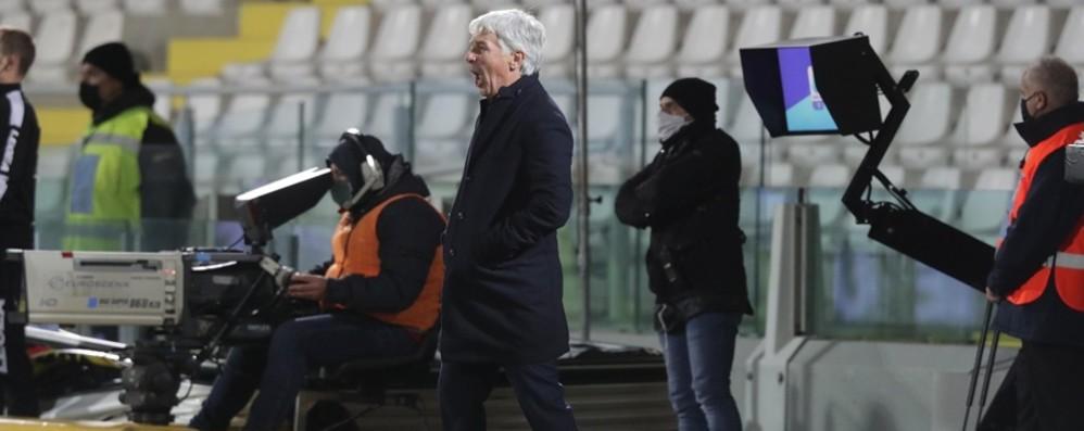 «Squadra sempre in campo al meglio» Gasperini loda i suoi, non è turnover