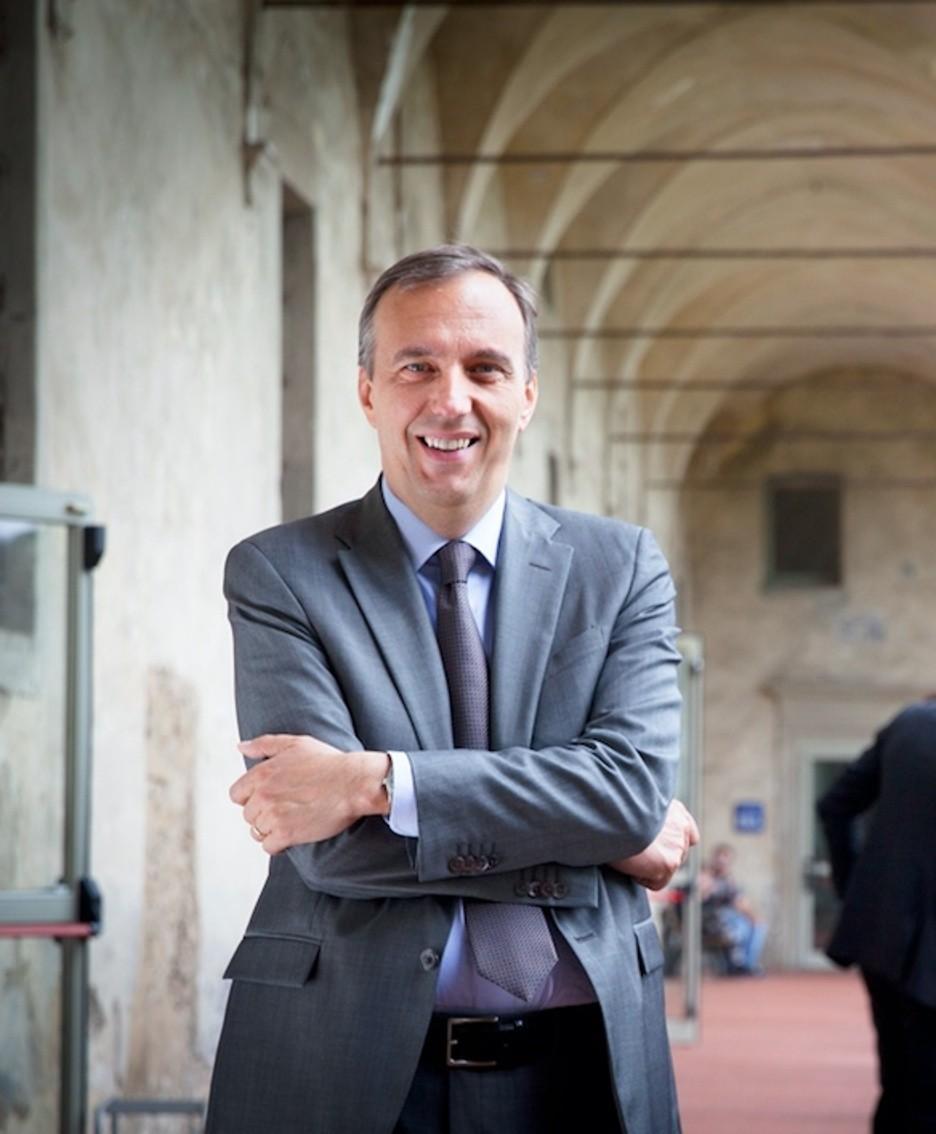Il rettore Remo Morzenti Pellegrini