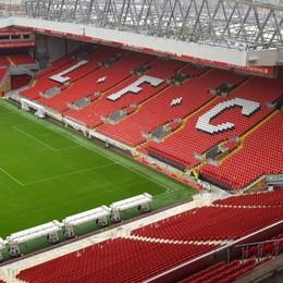 «This is Anfield». Atalanta, benvenuta nel monumento del calcio inglese. Le foto degli stadi che ospitarono i nerazzurri