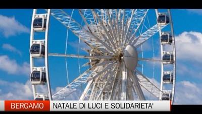 Bergamo - Natale di luci e solidarietà