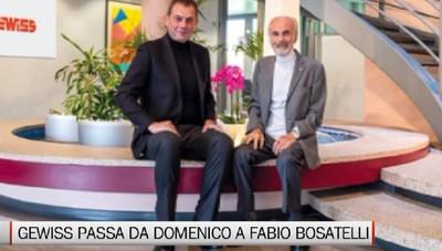 Gewiss, Domenico Bosatelli passa lo scettro al figlio Fabio