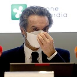 Lombardia, Fontana: «Dal 27 potremo  chiedere di entrare in zona arancione»