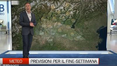 Meteo - Le previsioni per il fine-settimana