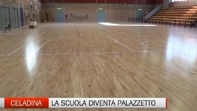 Scuola e sport si incontrano alla Celadina. e nasce il terzo Palazzetto dello sport di Bergamo