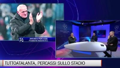 TuttoAtalanta, le parole del presidente Percassi sullo stadio
