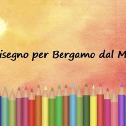 Un disegno per ricordare Bergamo Omaggio dei bimbi da tutto il mondo