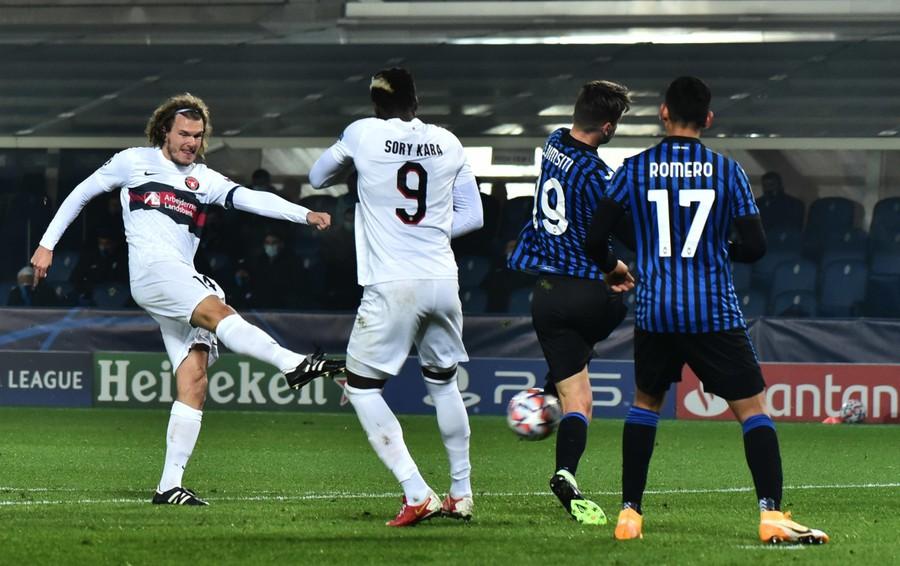 Atalanta-Midtjylland, parziale 1-1 Romero pareggia  - Segui la diretta