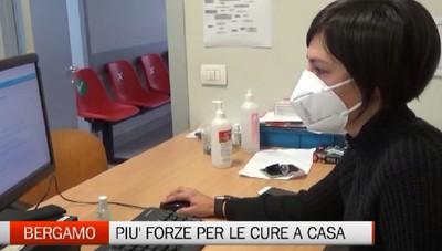 Bergamo - Potenziate le cure domiciliari
