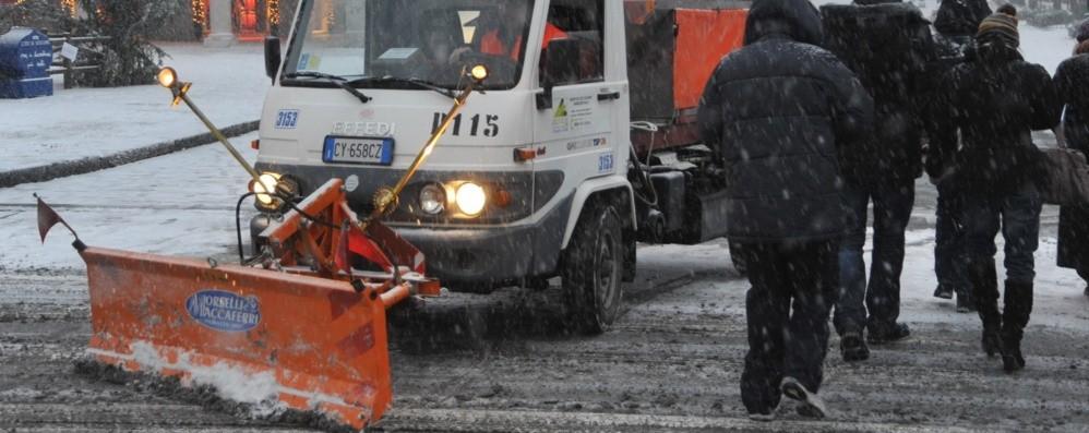 Bergamo, pronto a scattare il Piano Neve   con 1.800 tonnellate di sale e 120 mezzi