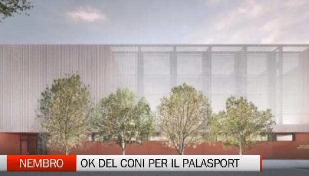 Nembro, ok del Coni per il nuovo Palasport