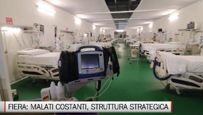 Ospedale in Fiera: allenta la pressione, ma malati sempre costanti