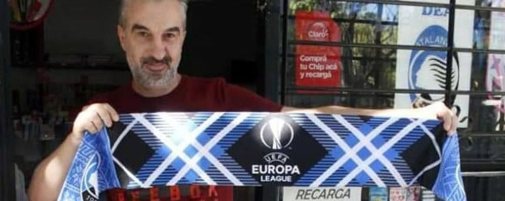 A Paranà c'è il «Kiosco Dea» Atalanta nel cuore dell'Argentina