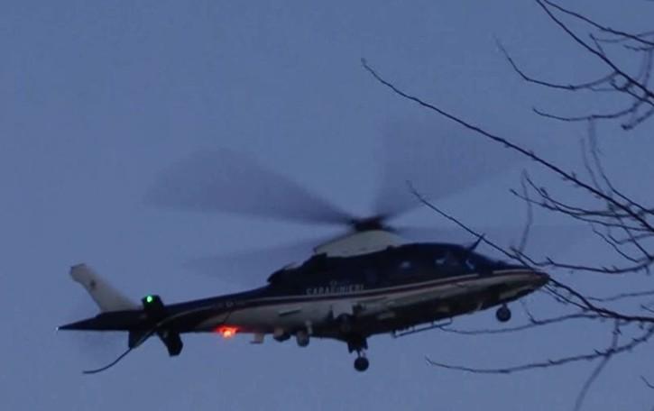 Inseguimento con elicottero e termocamera Covo, arrestati due spacciatori