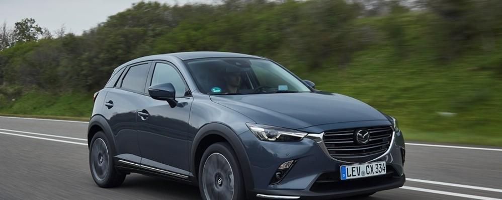 Mazda CX-3 arriva nelle concessionarie