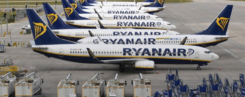 Orio al Serio, Ryanair rimane a terra Da 190 a 70 voli alla settimana