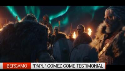 Papù testimonial del coraggio di Bergamo