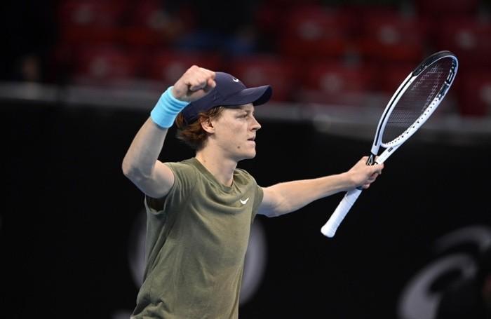 Jannik Sinner dopo la vittoria al Sofia Open ATP 250 tennis tournament in Sofia, Bulgaria