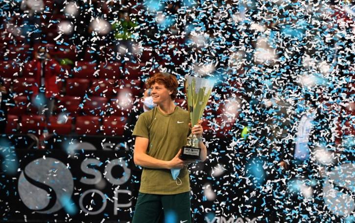 Sinner fa la storia del tennis italiano A 17 anni vinse gli Internazionali di Bergamo
