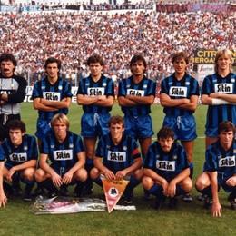 Una foto da viaggio nel tempo. Ecco l'Atalanta del 1984, che con l'Inter giocò la partita di cui tutti possiamo dire «io c'ero»