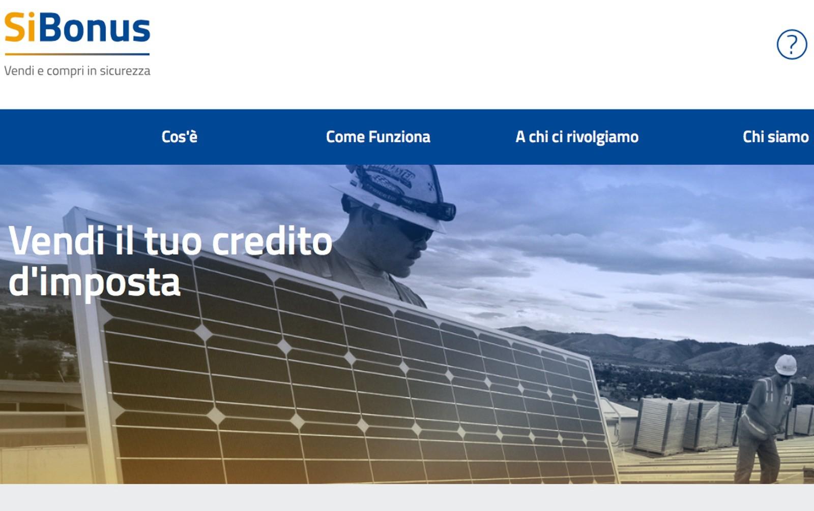 Bonus 110%, un nuovo portale per la cessione del credito