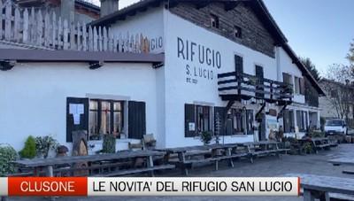 Clusone, lavori per strada e parcheggi al rifugio San Lucio