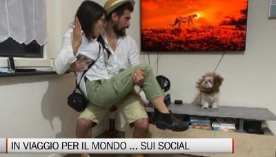 Daniele, Silvia e Ciak, dalla Val Seriana in viaggio nel mondo...sui social
