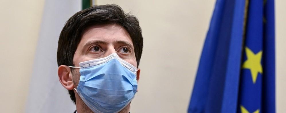 Il ministro della Salute Speranza  «Bergamo in zona gialla? Possibile»