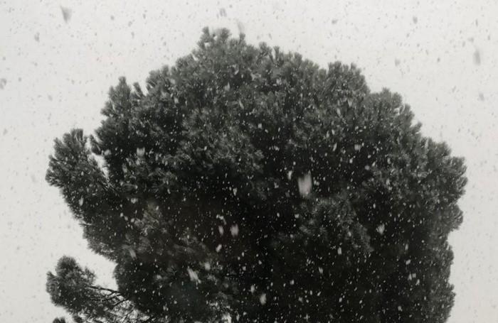 Prima nevicata anche a Grumello