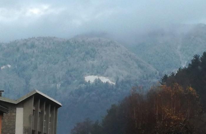 Neve a Clusone