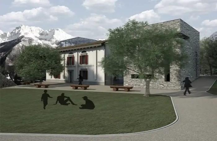 Ecco come sarà il Museo della diga del Gleno a Vilminore di Scalve