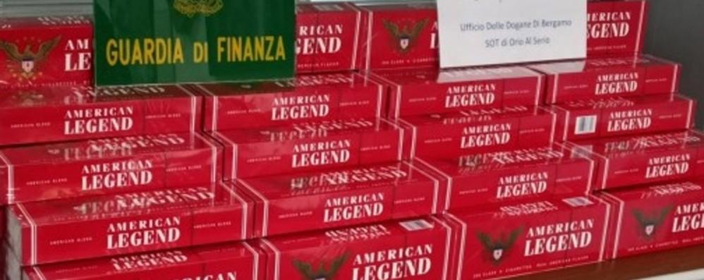 Sigarette di contrabbando da Il Cairo Sequestrati 847 pacchetti a Orio al Serio