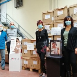 Aiuti ai bisognosi di Bergamo Distribuiti 6 mila indumenti