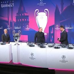 Champions, i sorteggi degli ottavi L'Atalanta contro il Real Madrid