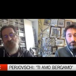 Gamec, la t-shirt Ti Amo Bergamo Perjovschi: Società fragile ma resiliente